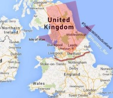 the uk government allow the north of england to secede from the uk and join scotland